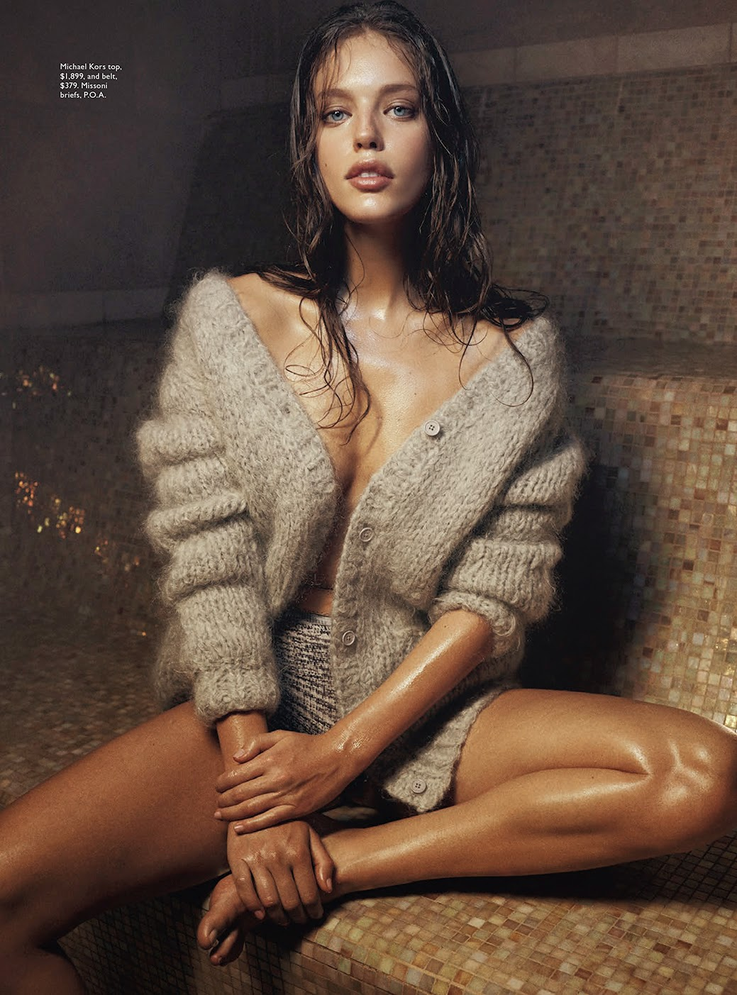Let It Snow Emily Didonato By Benny Horne For Vogue