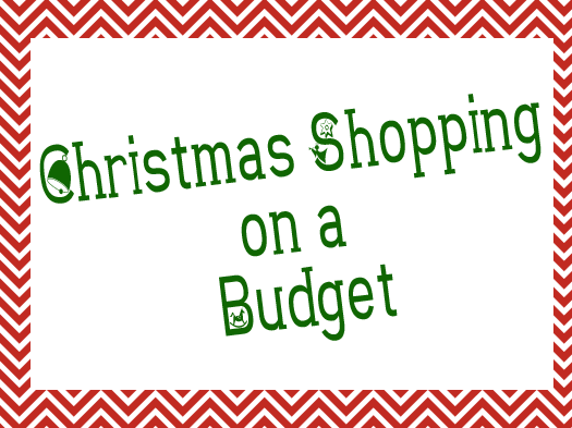 Christmas Shopping on Budget