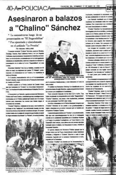 Tumba De Chalino Sanchez