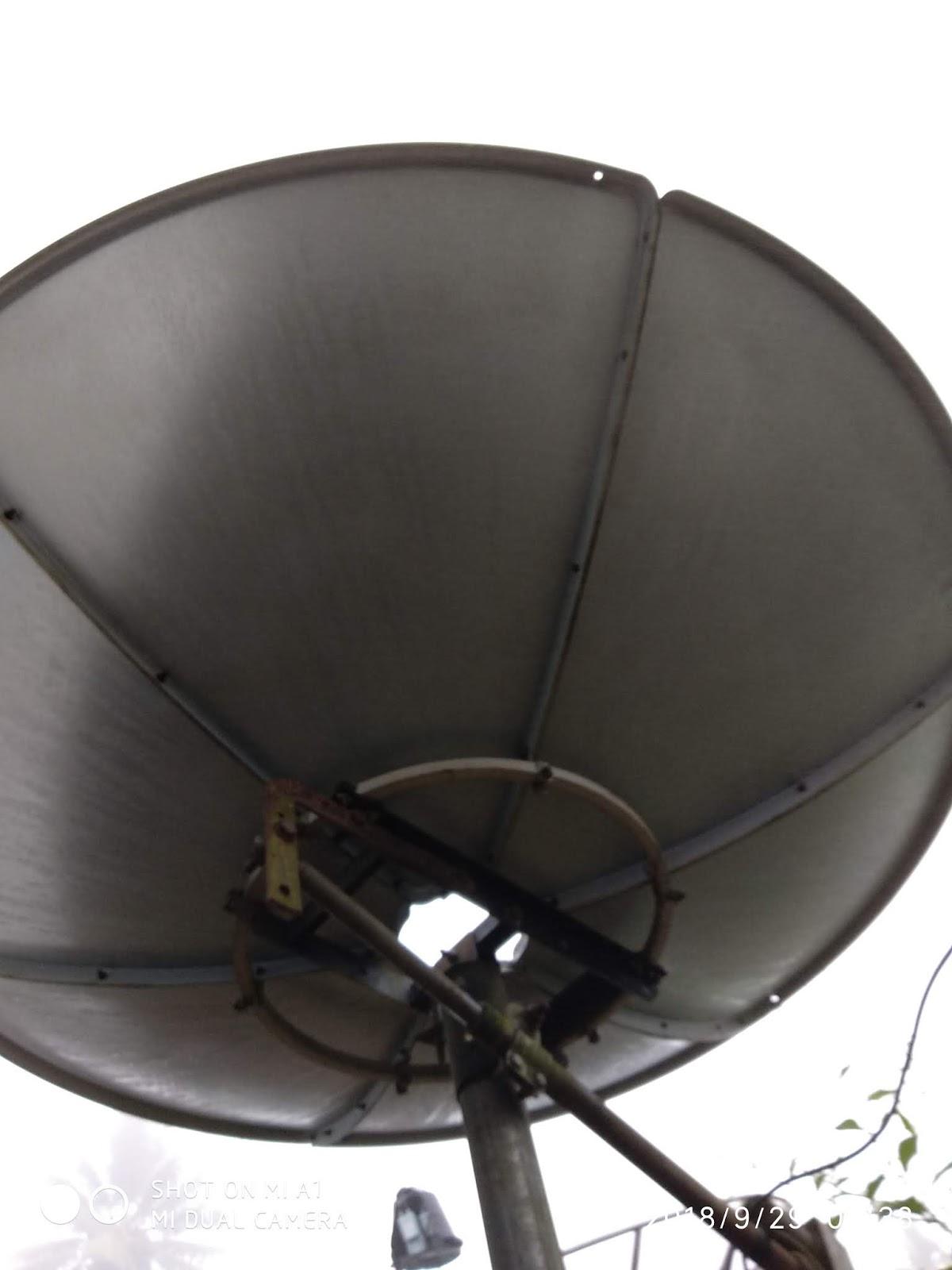 Teknologi Parabola: Cara Traking Satelit measat 3ku Band (Astro)