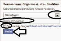 Cara membuat halaman fanspage facebook