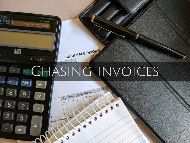 Chasing invoices