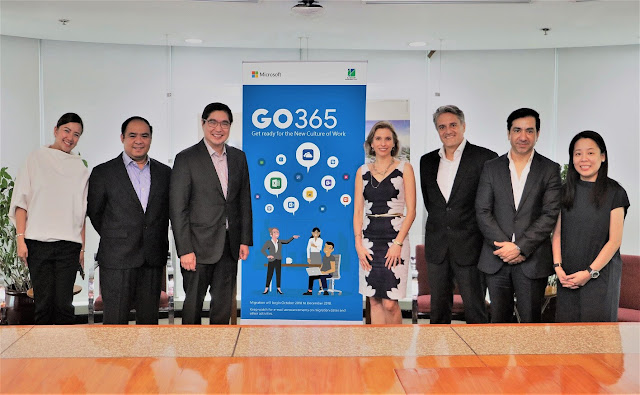 JG Summit to upgrade to Office 365 and the Cloud Platform