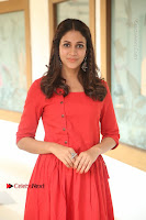 Actress Lavanya Tripathi Latest Pos in Red Dress at Radha Movie Success Meet .COM 0092.JPG