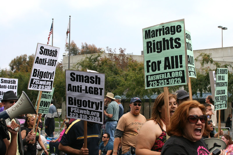Marriage rights WEHO Pride Parade