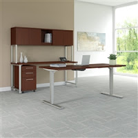 400 Series ergonomic sit to stand desk