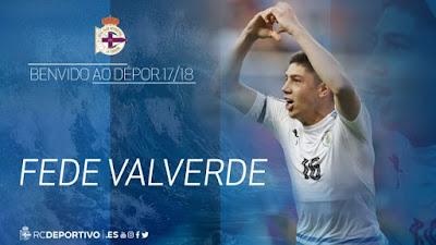 Oficial : Fede Valverde cedido al Deportivo