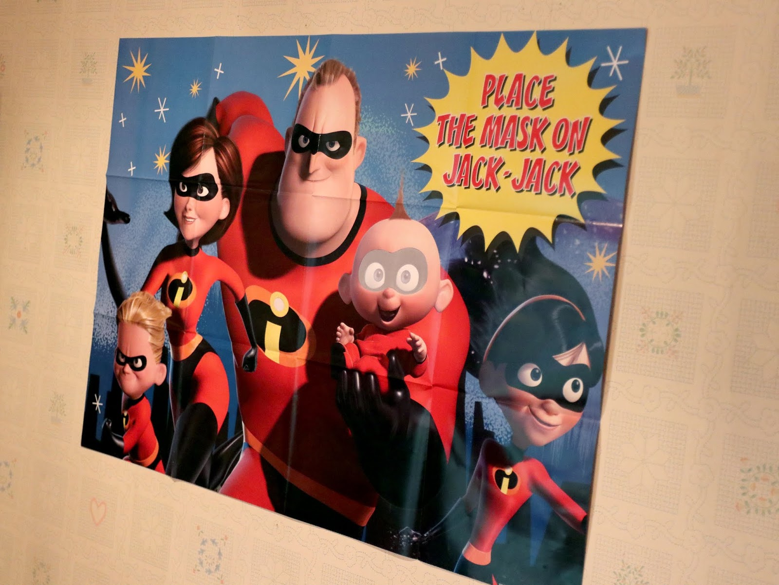 disney pixar the incredibles 2 birthday party game