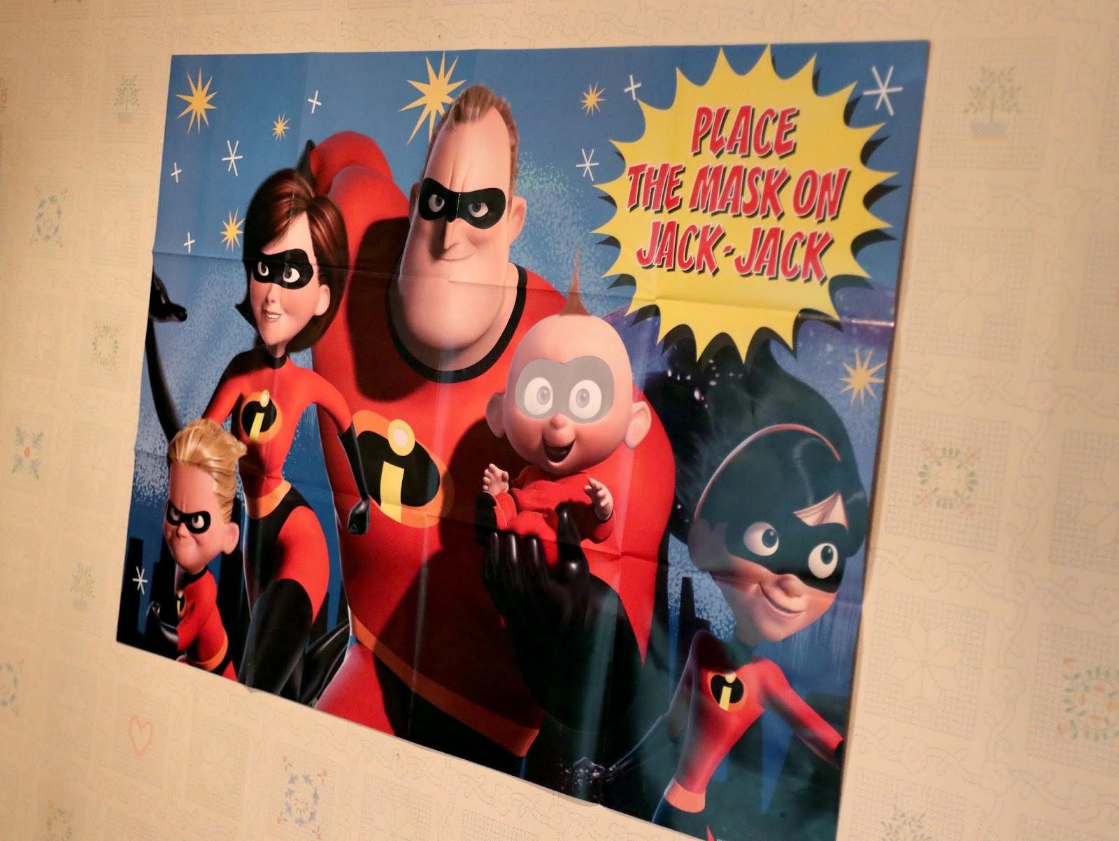 disney pixar the incredibles 2 birthday party game
