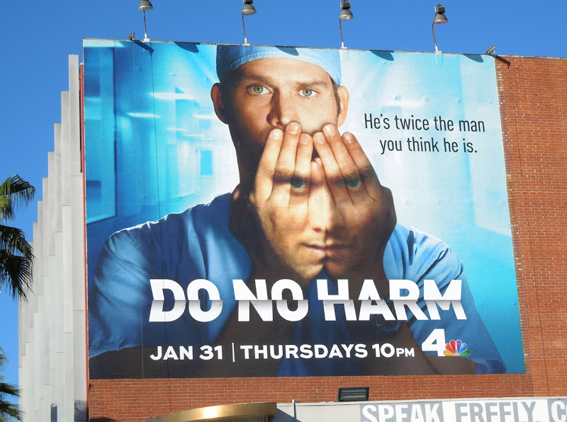 Do No Harm series premiere billboard