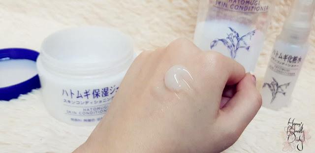 Review; I-Mju's Hatomugi Skin Conditioning Gel