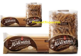 Logo ''Primi nel Benessere'': vinci gratis 150 bauletti e centinaia di kg. di pasta La Molisana