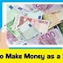 Ways to make money online as a student