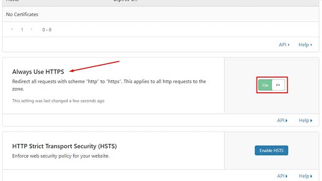 Always Use HTTPS - usar siempre https