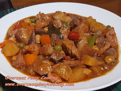 Pork and Chicken Menudo Recipe