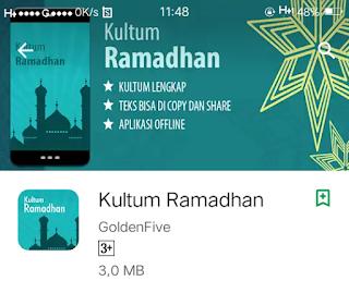 Aplikasi qultum ramadhan
