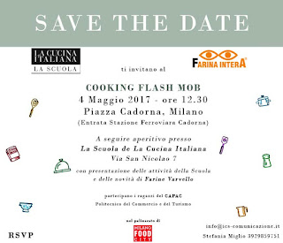 Cooking Flash Mob 4 maggio Milano (piazza Cadorna)