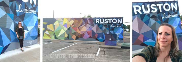 Mural in Ruston LA