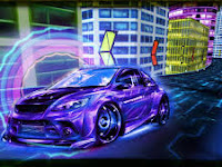 Download Real Neon Racing Mod Apk v1.0 (Mod Pembelian kendaraan tanpa syarat)