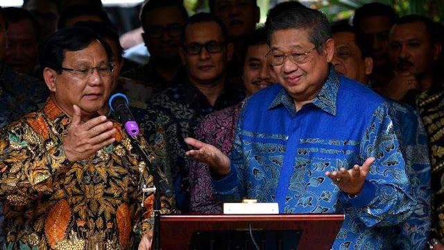 SBY Turun Gunung untuk Prabowo, TKN Duga Malah Bakal Gerus Suara Demokrat