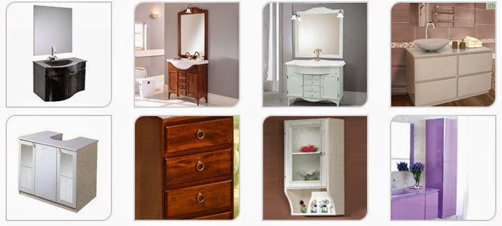 Soluzioni visive per l 39 arredamento for Mobilia mobili bagno