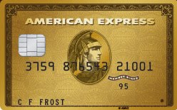 amex gold card application