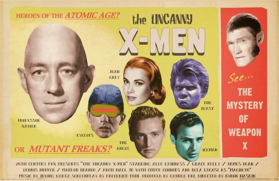 Guinness, Kelly, Hopper, in X-Men