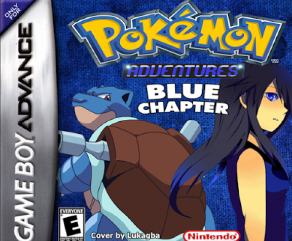 Pokemon Adventures Blue Chapter
