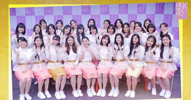 bnk48 members 1st generation generasi pertama