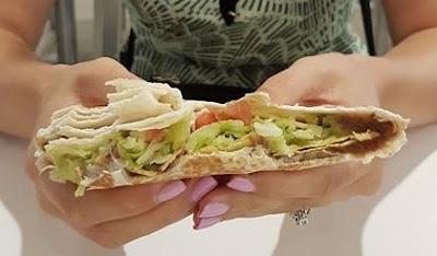 Taco Bell Vegan Crunchwrap