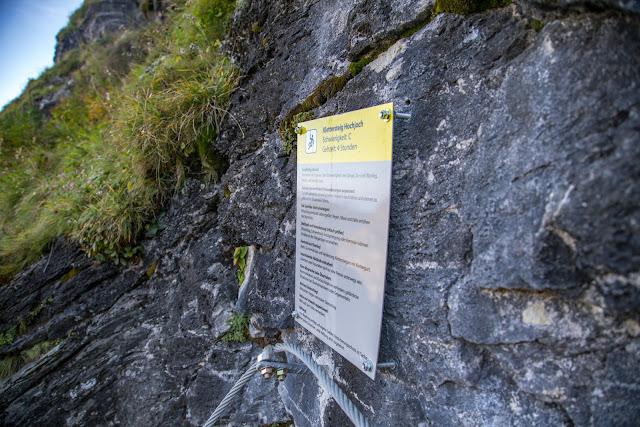 Seetalwanderung und Klettersteig Hochjoch  Silvretta Montafon 05