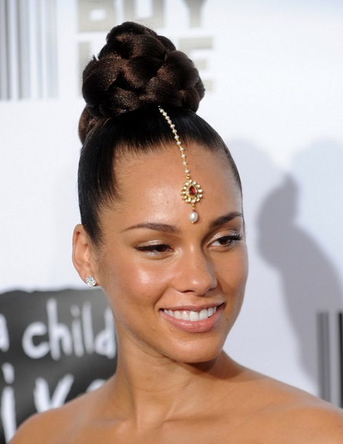African American Hairstyles Trends And Ideas : Cute Bun