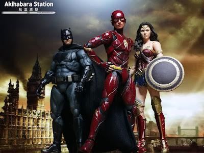 S.H.Figuarts The Flash de Justice League - Tamashii Nations