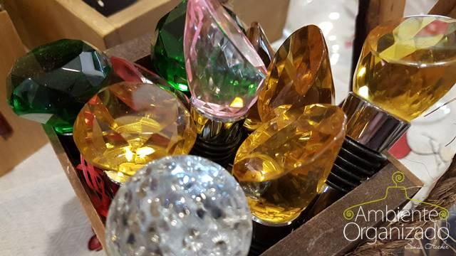 Ponteiras de cristal para garrafas