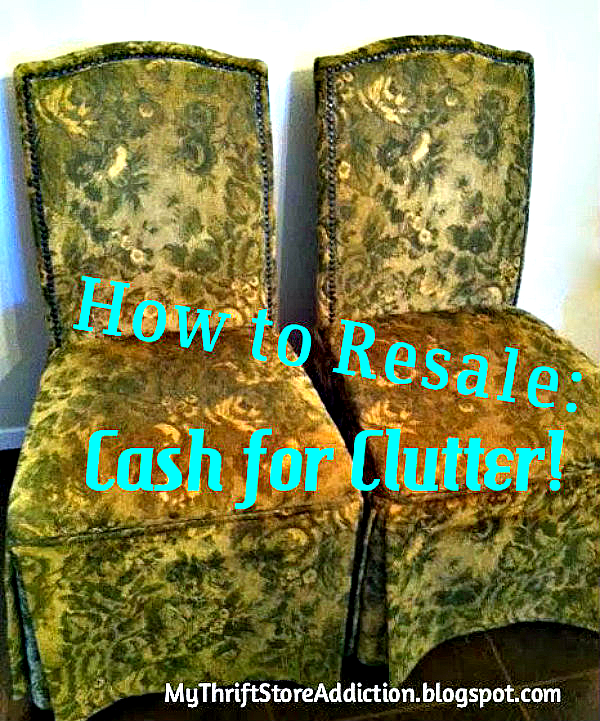 The Thrifty Way to Declutter Part 2  mythriftstoreaddiction.blogspot.com How to Resale