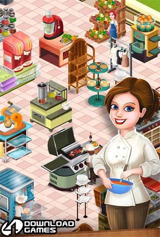 لعبة طبخ خفيفة Star Chef للموبايل اندرويد - ايفون