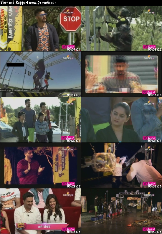 Khatron Ke Khiladi 7 Hindi 20 Feb 2016 HDTV 480p