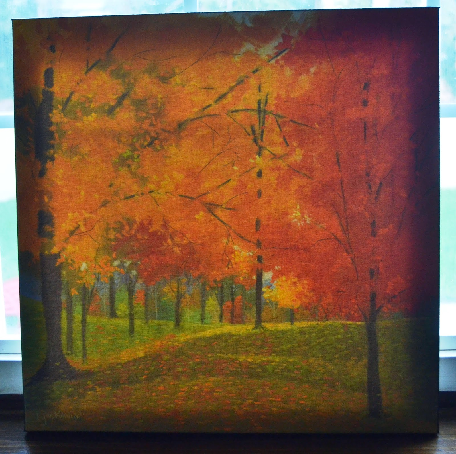 Bright Autumn Day II print