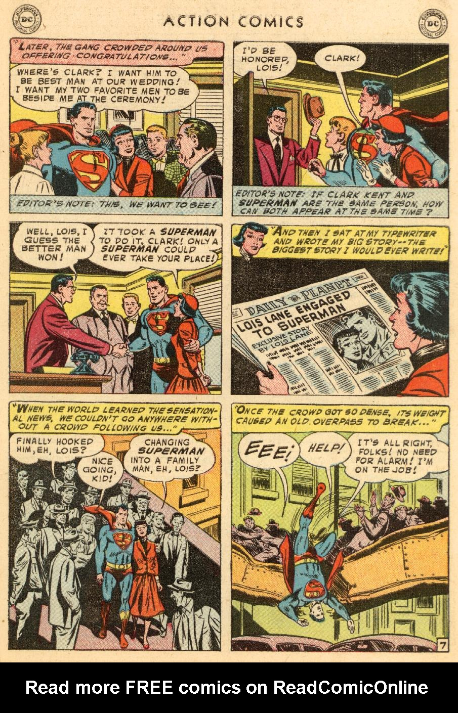 Read online Action Comics (1938) comic -  Issue #206 - 9