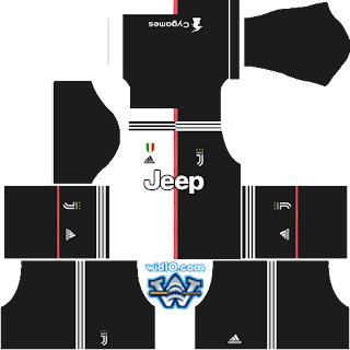Juventus 2019 - 2020 DLS/FTS Dream League Soccer Kits ve Logo