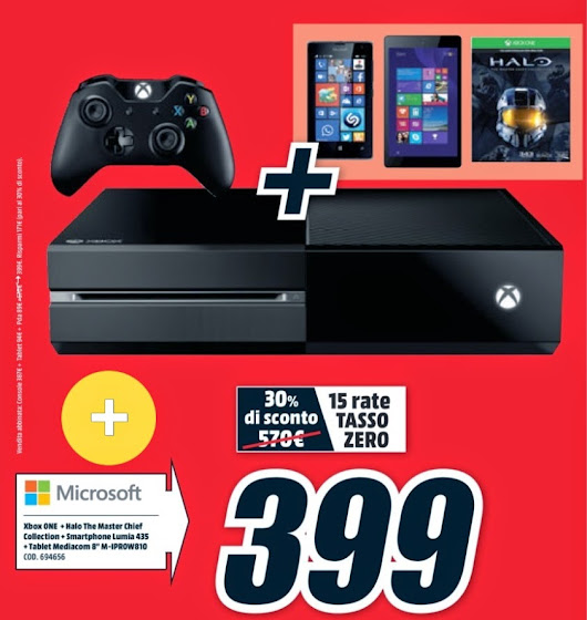 equaTech: BUNDLE XBOX ONE - LUMIA 435 - TABLET W8 a 399 €