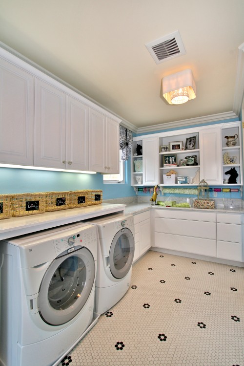 Laundry Rooms Designs: 20 Laundry Room Ideas - Place To Clean Clothes