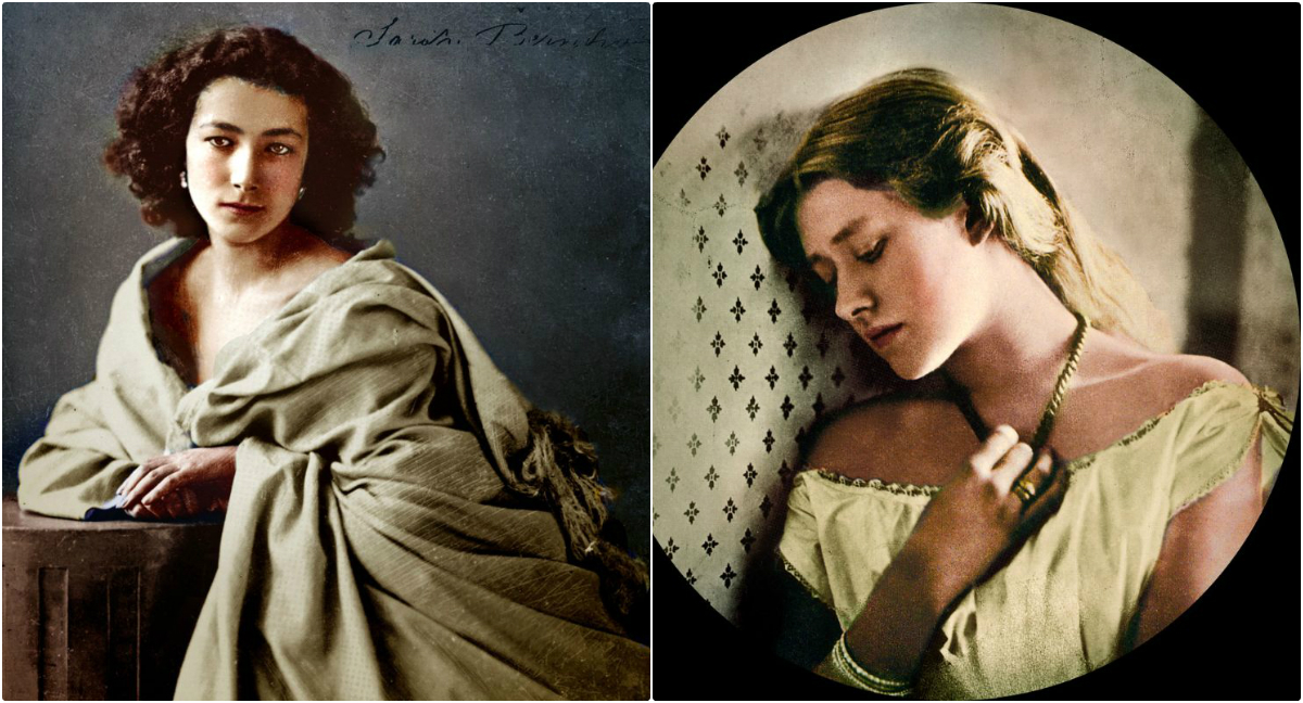 These Incredibly Colorized Portrait Photos From the 19th Century Will Blow You Away