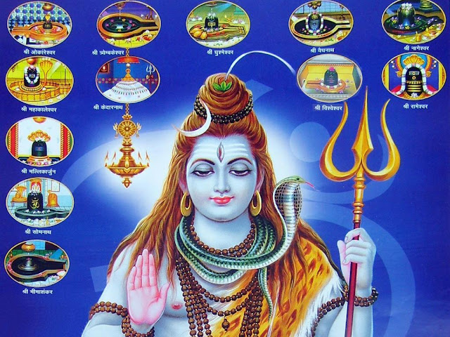 Best Lord Shiva  Wallpaper In Blue Background