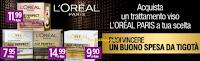 Logo Concorso ''Missione anti età'' e con L'Oreal Paris vinci card Tigotà da 25€