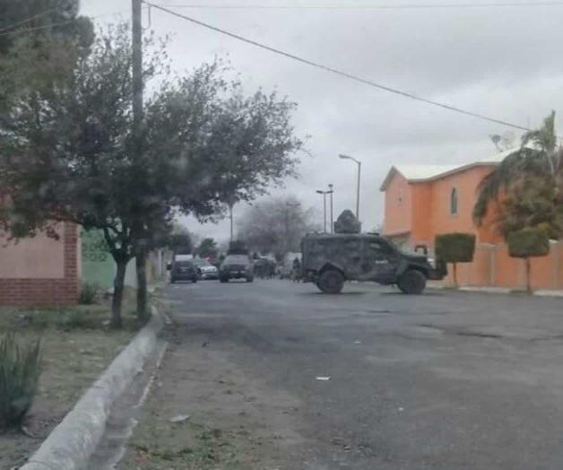 3 Sicarios abatidos y 2 heridos y traían camioneta blindada tras infernal balacera  y persecución en Tamaulipas