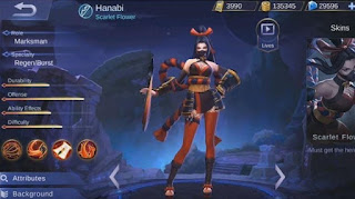 Build Item Hanabi Mobile Legends Terbaik (Pro Recommendation)