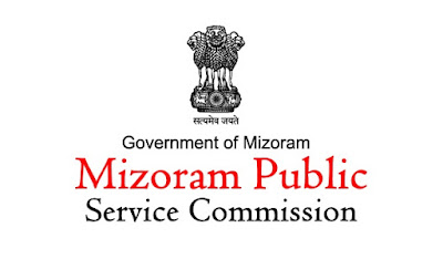 Mizoram PSC Recruitment 2017