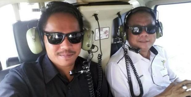 WhatsApp Terakhir Mangsa Nahas Helikopter
