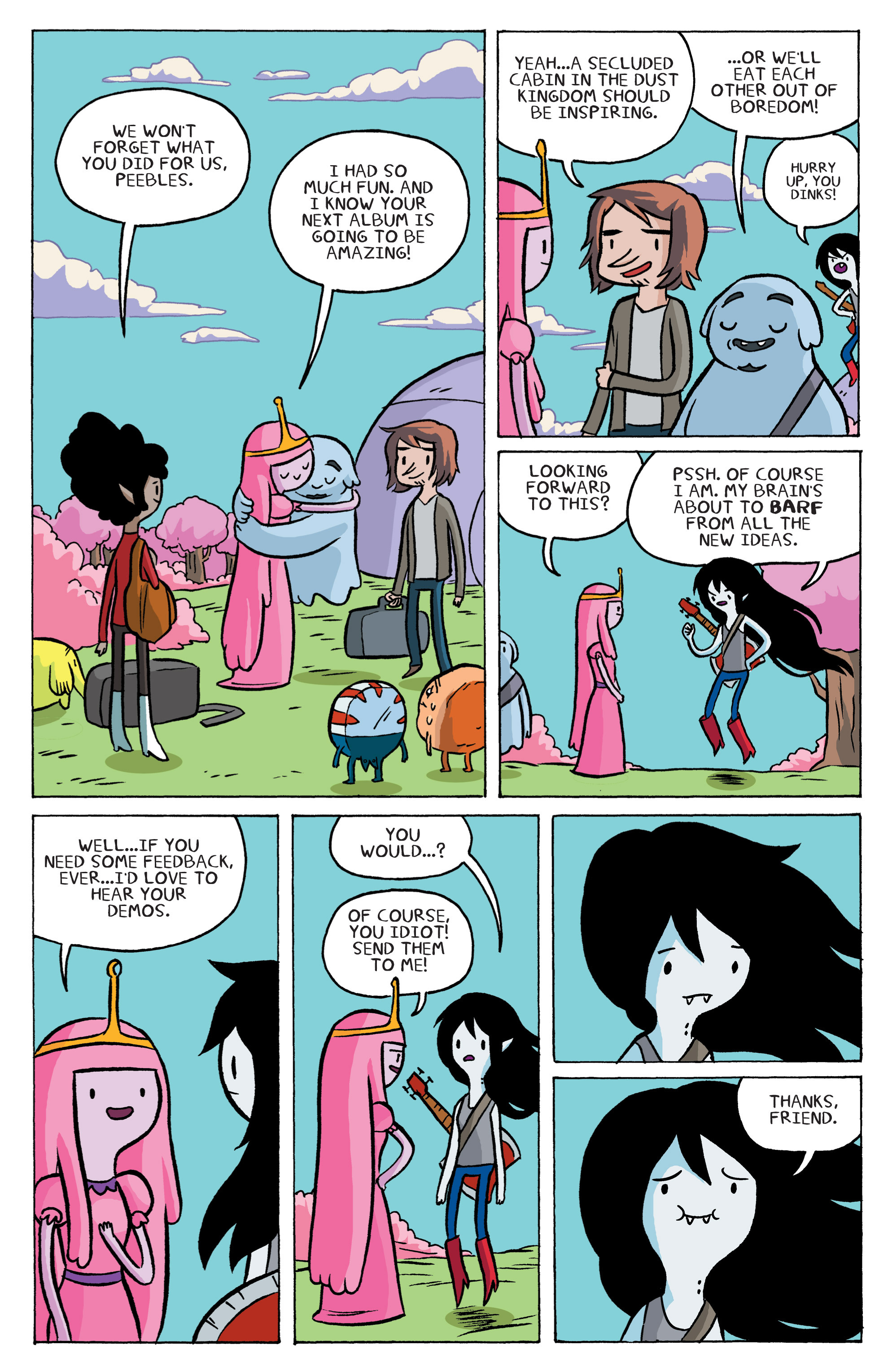 Read online Adventure Time: Marceline and the Scream Queens comic -  Issue #6 - 20